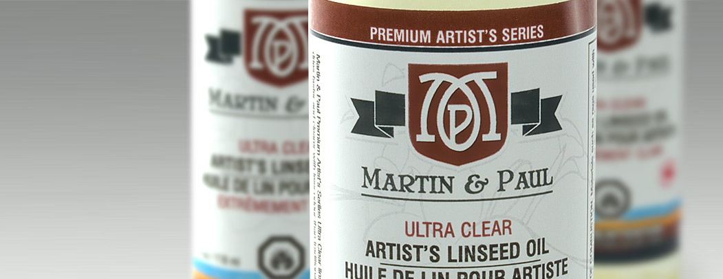 Martin & Paul Ultra Clear Linseed Oil
